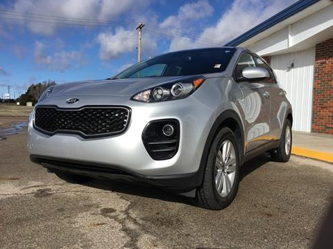 2018 Kia Sportage LX for sale at Janssen Ford in Larned KS