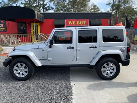2011 Jeep Wrangler Unlimited for sale in Ladson, SC