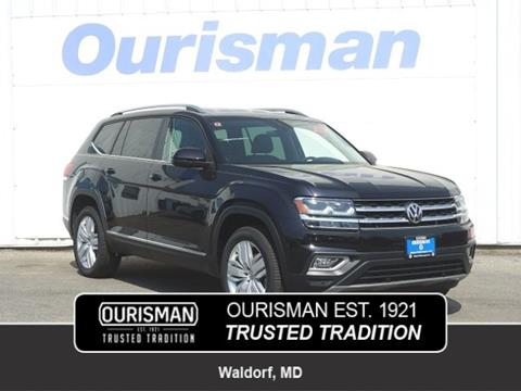 2019 Volkswagen Atlas for sale in Waldorf, MD