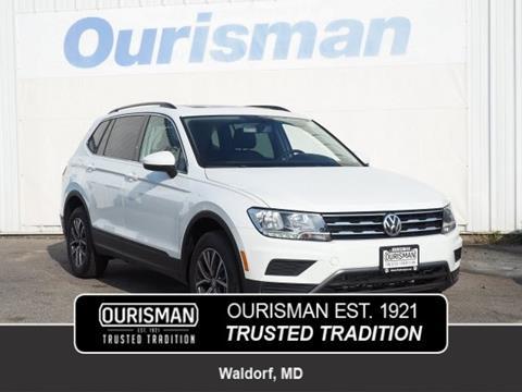2019 Volkswagen Tiguan for sale in Waldorf, MD