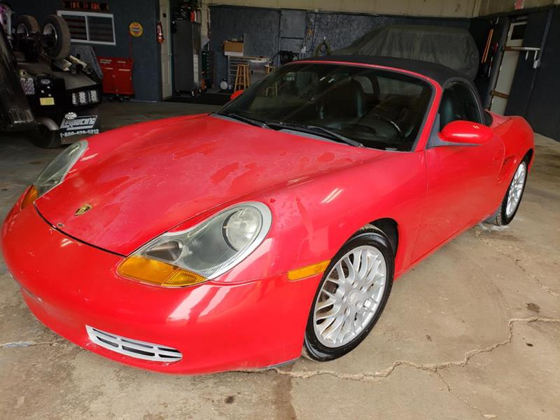1999 Porsche Boxster for sale at Hy-Way Sales Inc in Kenosha WI