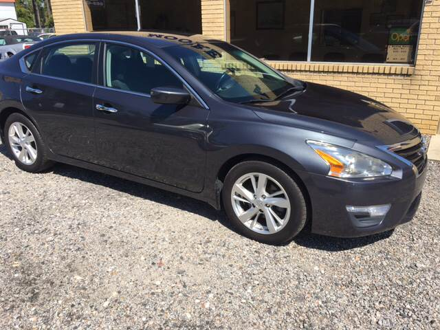2013 Nissan Altima For Sale At MOOREu0027S AUTOS LLC In Florence SC