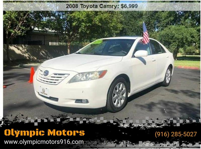 2008 Toyota Camry For Sale At Olympic Motors In Sacramento CA