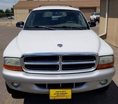 2002 Dodge Durango for sale at G.K.A.C. in Twin Falls ID