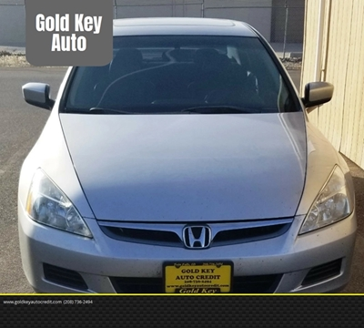 2006 Honda Accord for sale at G.K.A.C. in Twin Falls ID