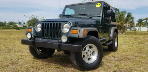 2002 Jeep Wrangler for sale in Deerfield Beach, FL