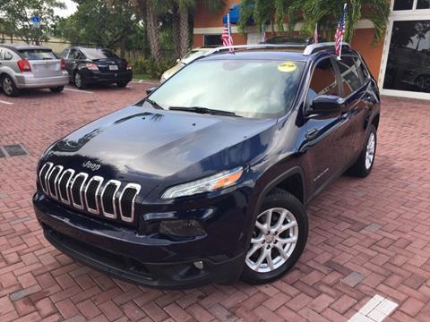2014 Jeep Cherokee for sale in Deerfield Beach, FL