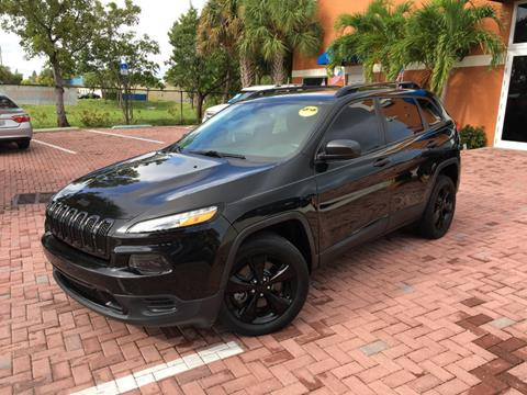 2016 Jeep Cherokee for sale in Deerfield Beach, FL