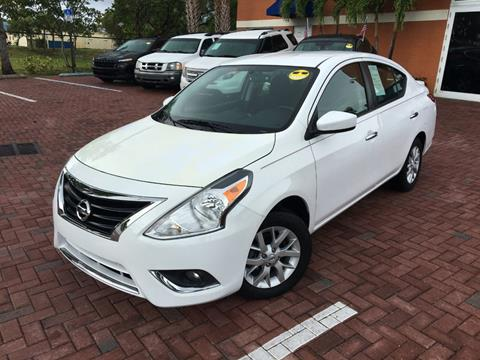 2018 Nissan Versa for sale in Deerfield Beach, FL