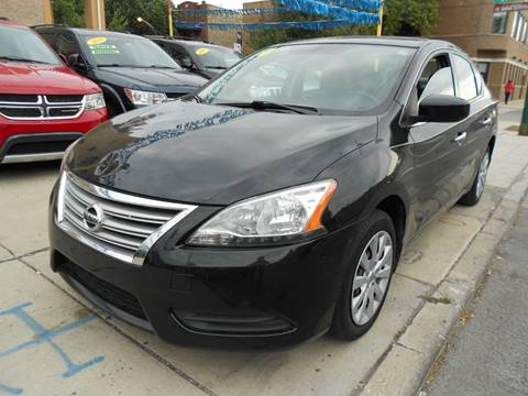 2014 Nissan Sentra for sale at Metropolitan Automan, Inc. in Chicago IL