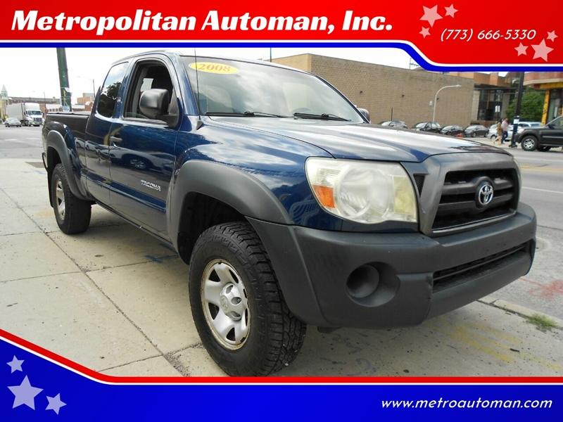 2008 Toyota Tacoma for sale at Metropolitan Automan, Inc. in Chicago IL