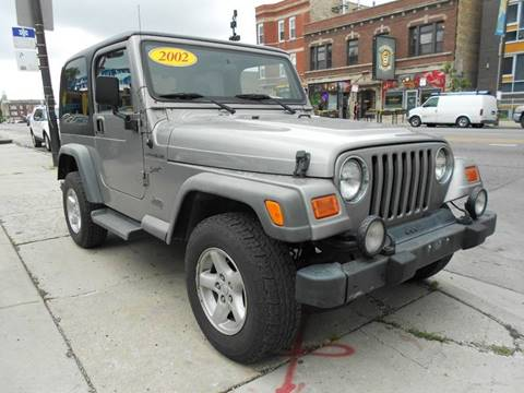 2002 Jeep Wrangler for sale in Chicago, IL