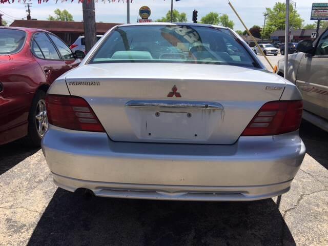 2001 Mitsubishi Galant For Sale At Ku0026M Car Sales Inc. In Calumet City IL