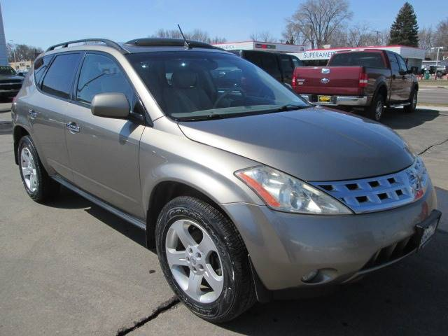 2003 Nissan Murano For Sale At SCHULTZ MOTORS In Fairmont MN