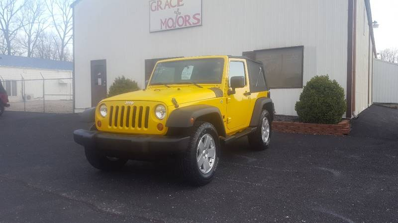 2008 Jeep Wrangler For Sale At Grace Motors In Evansville IN