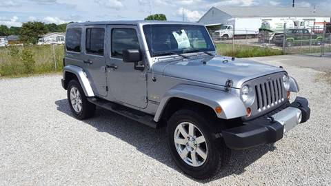 2013 Jeep Wrangler Unlimited for sale in Evansville, IN