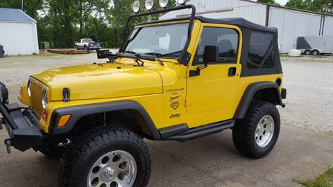 2000 Jeep Wrangler for sale in Evansville, IN