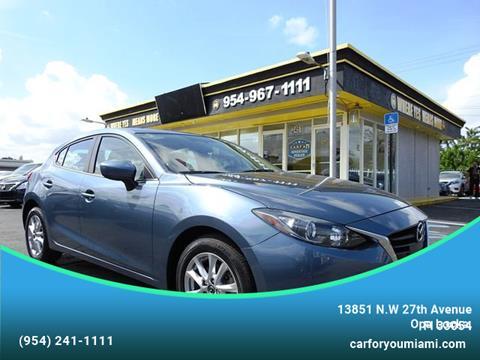 2017 Mazda MAZDA3 for sale in Opa Locka, FL