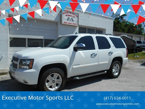 2008 Chevrolet Tahoe for sale in Sparta, MO
