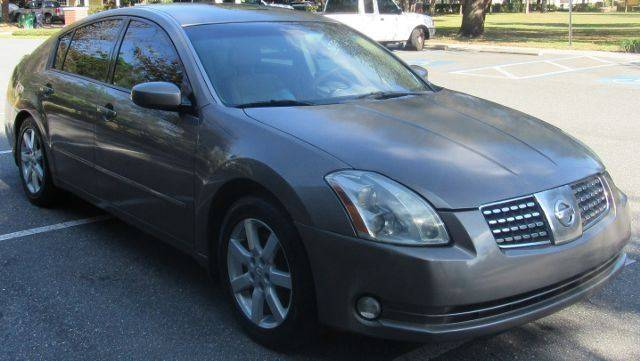 2004 Nissan Maxima For Sale At INTEGRITY MOTORS OF FLORIDA In Tampa FL