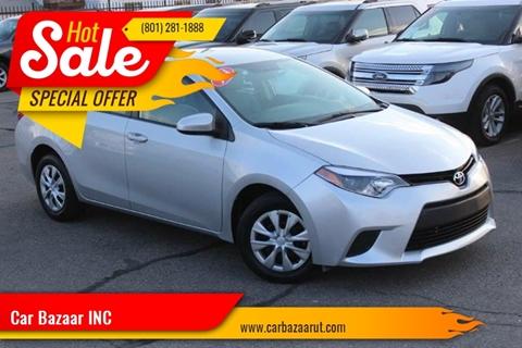 2014 Toyota Corolla for sale in Salt Lake City, UT