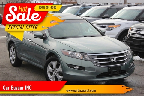 2012 Honda Crosstour for sale at Car Bazaar INC in Salt Lake City UT