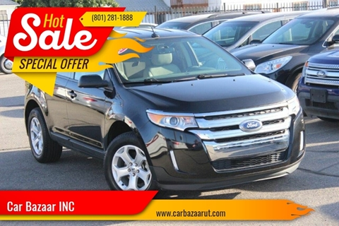 2013 Ford Edge for sale at Car Bazaar INC in Salt Lake City UT