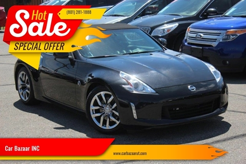2014 Nissan 370Z for sale at Car Bazaar INC in Salt Lake City UT