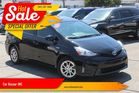 2016 Toyota Prius v for sale at Car Bazaar INC in Salt Lake City UT