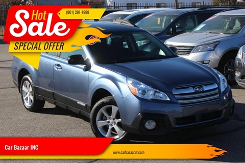 2014 Subaru Outback for sale at Car Bazaar INC in Salt Lake City UT