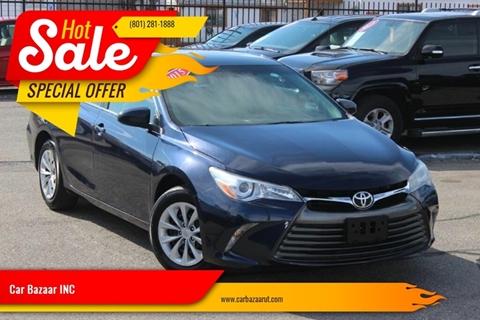 2015 Toyota Camry for sale at Car Bazaar INC in Salt Lake City UT
