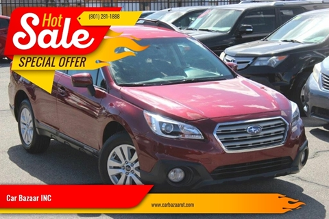 2016 Subaru Outback for sale at Car Bazaar INC in Salt Lake City UT
