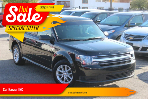 2015 Ford Flex for sale at Car Bazaar INC in Salt Lake City UT