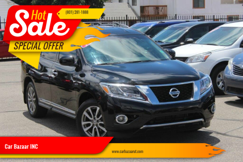 2016 Nissan Pathfinder for sale at Car Bazaar INC in Salt Lake City UT