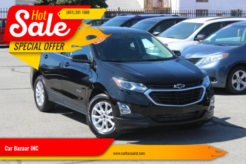2018 Chevrolet Equinox for sale at Car Bazaar INC in Salt Lake City UT