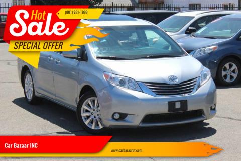 2015 Toyota Sienna for sale at Car Bazaar INC in Salt Lake City UT