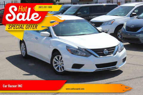 2016 Nissan Altima for sale at Car Bazaar INC in Salt Lake City UT