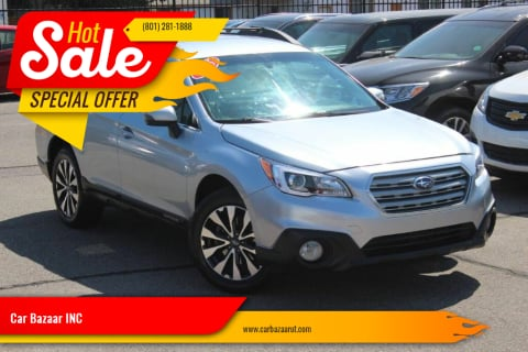 2015 Subaru Outback for sale at Car Bazaar INC in Salt Lake City UT