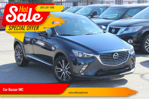 2018 Mazda CX-3 for sale at Car Bazaar INC in Salt Lake City UT