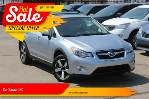 2014 Subaru XV Crosstrek for sale at Car Bazaar INC in Salt Lake City UT
