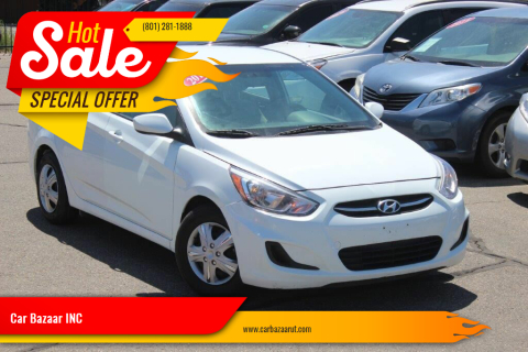 2017 Hyundai Accent for sale at Car Bazaar INC in Salt Lake City UT