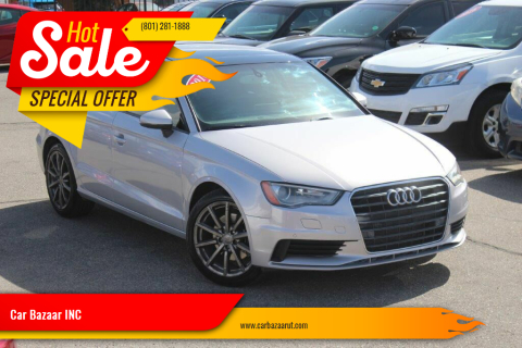 2016 Audi A3 for sale at Car Bazaar INC in Salt Lake City UT