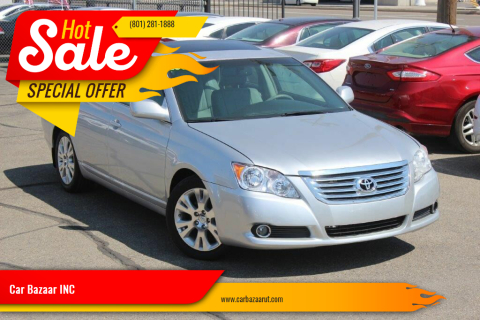 2008 Toyota Avalon for sale at Car Bazaar INC in Salt Lake City UT