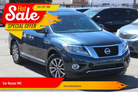 2014 Nissan Pathfinder for sale at Car Bazaar INC in Salt Lake City UT