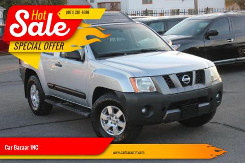 2007 Nissan Xterra for sale at Car Bazaar INC in Salt Lake City UT