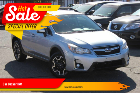 2016 Subaru Crosstrek for sale at Car Bazaar INC in Salt Lake City UT