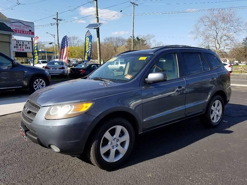 2007 Hyundai Santa Fe For Sale At DELAWARE VALLEY MOTORS In Lawnside NJ