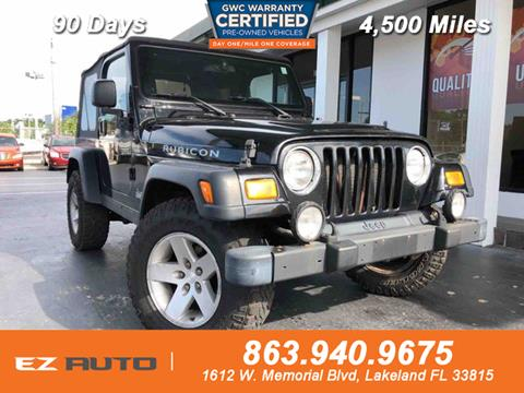 2004 Jeep Wrangler for sale in Lakeland, FL