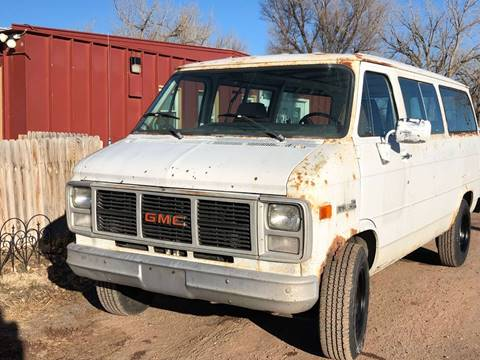 1985 GMC Rally Wagon for sale in Chadron, NE