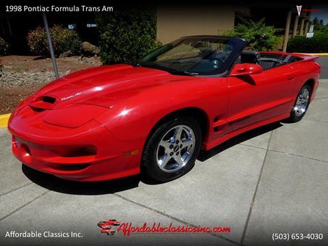 1998 Pontiac Firebird for sale in Gladstone, OR